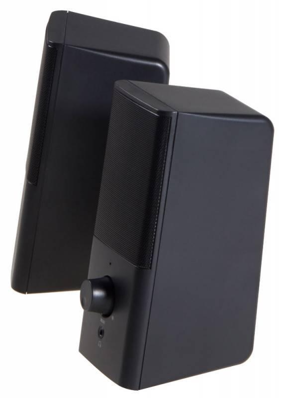 Колонки Oklick OK-128 черный (D8) - фото 3