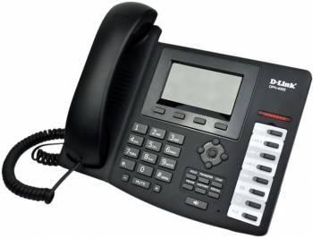 Телефон IP D-Link DPH-400S черный (DPH-400S / F4)
