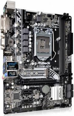 Материнская плата Soc-1151 Asrock B250M-HDV mATX