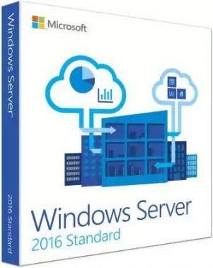 Операционная система Microsoft Server 2016 Std 10 Clt 64 bit BOX (P73-07081)