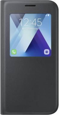 Чехол Samsung S View Standing Cover, для Samsung Galaxy A5 (2017), черный (EF-CA520PBEGRU)
