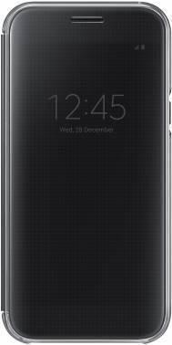 Чехол Samsung Clear View Cover, для Samsung Galaxy A5 (2017), черный (EF-ZA520CBEGRU)