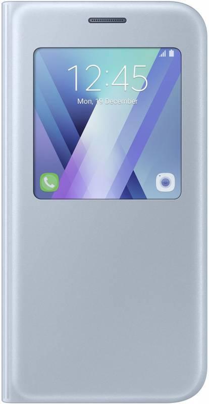 Чехол Samsung S View Standing Cover, для Samsung Galaxy A5 (2017), синий (EF-CA520PLEGRU) - фото 1