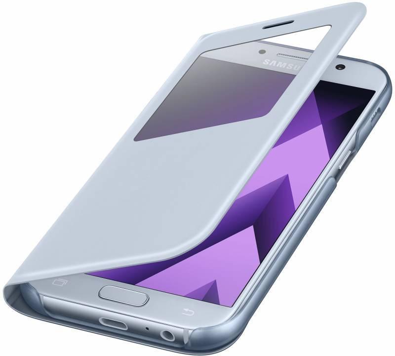 Чехол Samsung S View Standing Cover, для Samsung Galaxy A5 (2017), синий (EF-CA520PLEGRU) - фото 4