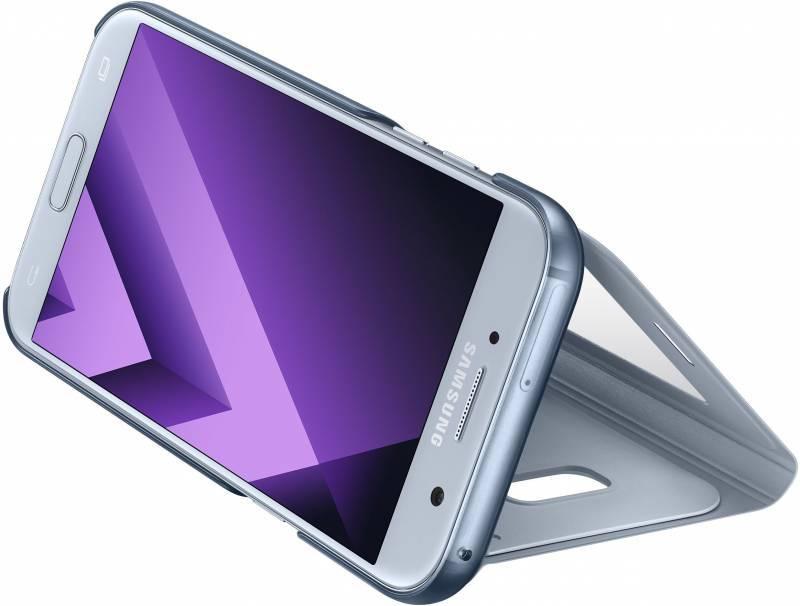 Чехол Samsung S View Standing Cover, для Samsung Galaxy A5 (2017), синий (EF-CA520PLEGRU) - фото 5
