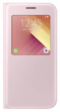 Чехол Samsung S View Standing Cover, для Samsung Galaxy A5 (2017), розовый (EF-CA520PPEGRU)