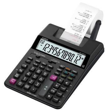 Калькулятор Casio HR-150RCE-WA-EC черный 12-разр.