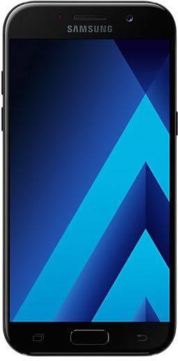 Смартфон Samsung Galaxy A5 (2017) SM-A520F 32ГБ черный - фото 1
