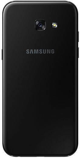 Смартфон Samsung Galaxy A5 (2017) SM-A520F 32ГБ черный - фото 2