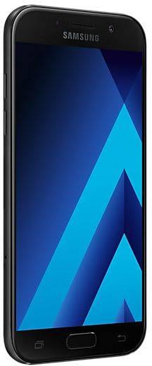 Смартфон Samsung Galaxy A5 (2017) SM-A520F 32ГБ черный - фото 5