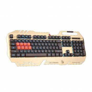 Клавиатура A4 Bloody B418 золотистый