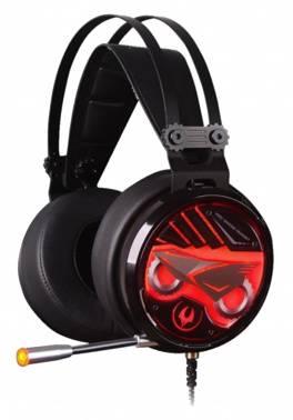 Наушники с микрофоном A4 Bloody M630 черный/красный, стерео, мониторы, крепление оголовье, проводные, кабель 2.2м (M630)