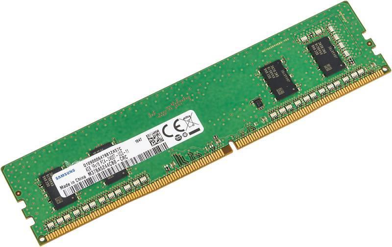 Модуль памяти DIMM DDR4 4Gb Samsung M378A5244CB0-CRC - фото 1