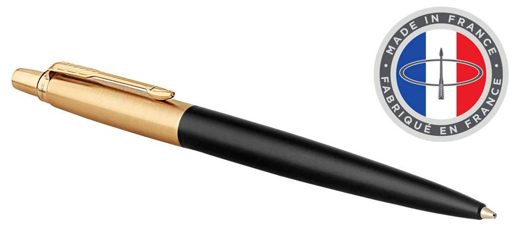 Ручка шариковая Parker Jotter Luxe K177 Bond Street Black GT (1953202) - фото 1