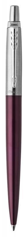 Ручка шариковая Parker Jotter Core K63 Portobello Purple CT (1953192) - фото 2