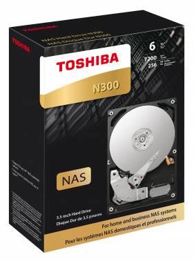 Жесткий диск 6Tb Toshiba N300 HDWN160EZSTA SATA-III