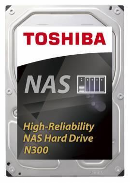 Жесткий диск 8Tb Toshiba N300 HDWN180UZSVA SATA-III
