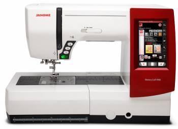Швейная машина Janome Memory Craft 9900 белый (CRAFT 9900)