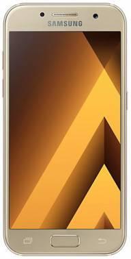 Смартфон Samsung Galaxy A3 (2017) SM-A320F 16ГБ золотистый