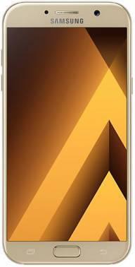 Смартфон Samsung Galaxy A7 (2017) SM-A720F 32ГБ золотистый