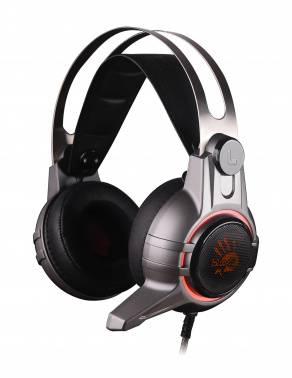 Наушники с микрофоном A4 Bloody M425 темно-серый