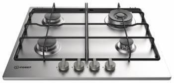 Газовая варочная поверхность Indesit THP 642 W / IX / I RU нержавеющая сталь
