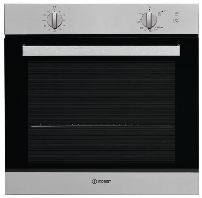 Духовой шкаф газовый Indesit IGW 620 IX серебристый - фото 1