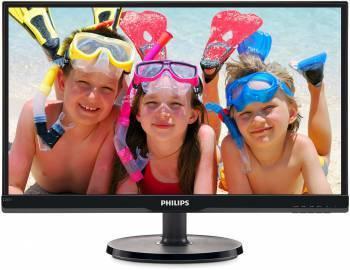 Монитор 21.5 Philips 226V6QSB6 (10/62) черный IPS LED 5ms 16:9 матовая 10000000:1 250cd 178гр/178гр 1920x1080 D-Sub (226V6QSB6)