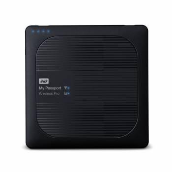 Внешний жесткий диск 2Tb WD WDBP2P0020BBK-RESN My Passport Wireless черный USB 3.0
