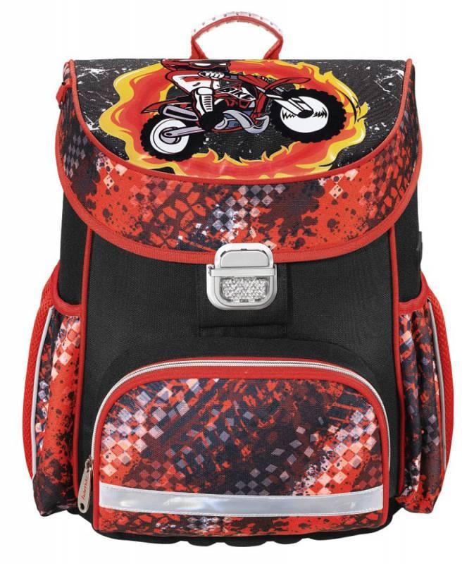 Ранец Hama MOTORBIKE красный/черный (00139073) - фото 1