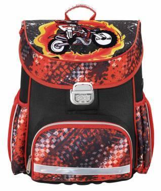 Ранец Hama MOTORBIKE красный/черный (00139073)