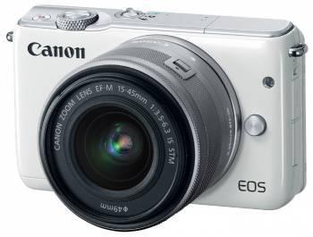 Фотоаппарат Canon EOS M10 kit белый
