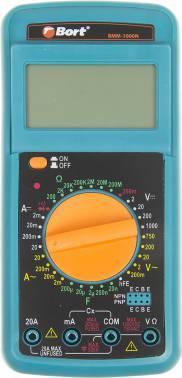 Мультиметр Bort BMM-1000N (91271143)