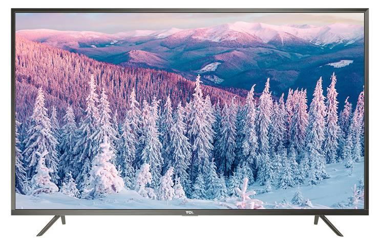 "Телевизор LED 65"" TCL L65P2US стальной - фото 1"