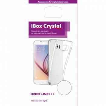 Чехол Redline iBox Crystal, для Samsung Galaxy A3 (2017), прозрачный (УТ000010227)