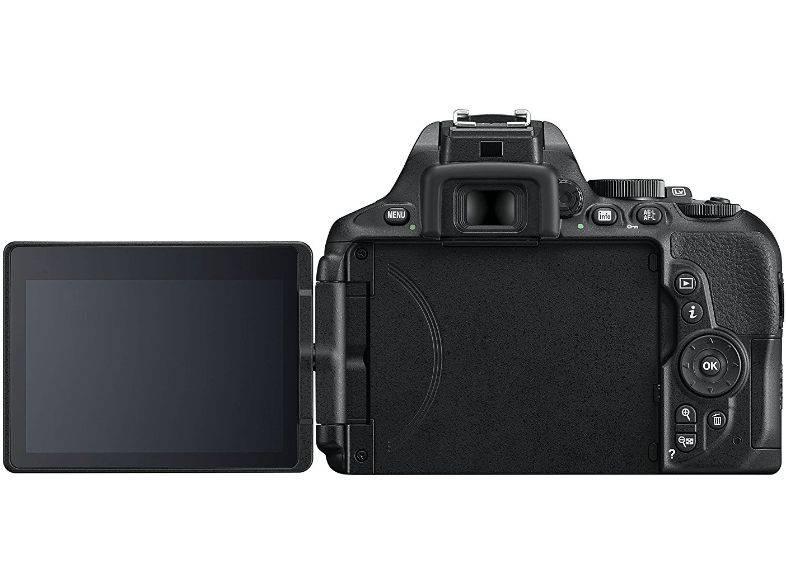 Фотоаппарат Nikon D5600 черный, 1 объектив 18-105 VR AF-S f/3.5-5.6G (VBA500K003) - фото 4