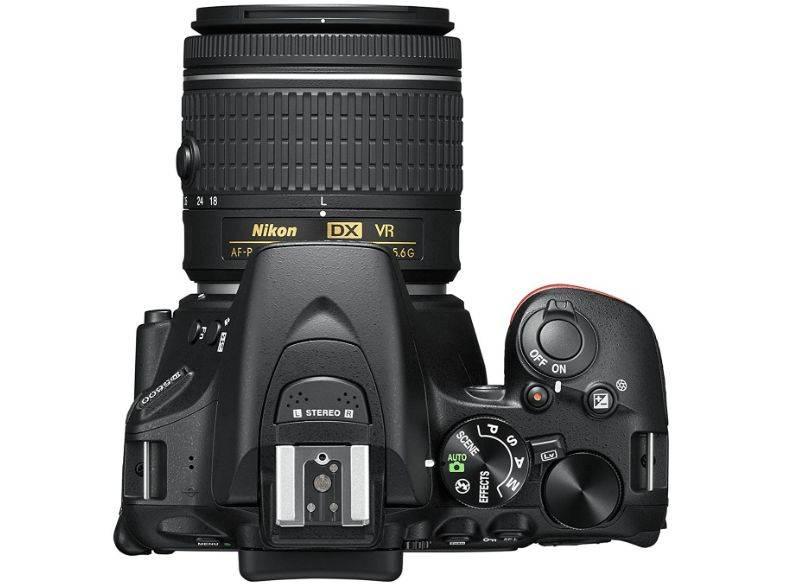 Фотоаппарат Nikon D5600 черный, 2 объектива 18-55 VR AF-P f/3.5-5.6G и 70-300 VR AF-P f/4.5-6.3G (VBA500K004) - фото 4