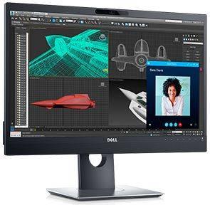 Монитор 23.8 Dell P2418HZ черный