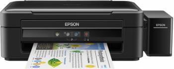 МФУ струйный Epson L382, максимальный формат A4, скорость печати А4: монохромная до 33стр/мин, цветная до 15стр/мин (C11CF43401)