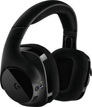 Наушники с микрофоном Logitech G533 черный