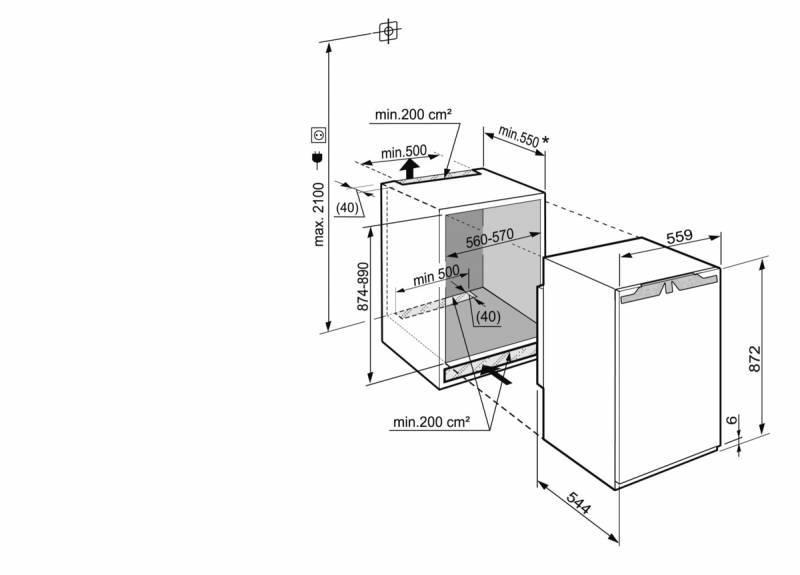 Холодильник Liebherr IB 1650 белый - фото 3