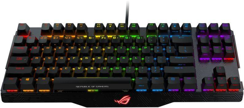 Клавиатура Asus ROG Claymore Brown Switches черный - фото 3