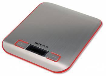 Кухонные весы Supra BSS-4076 красный (7119)