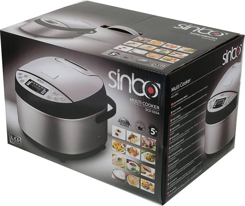 Мультиварка Sinbo SCO 5054 серебристый/черный - фото 9