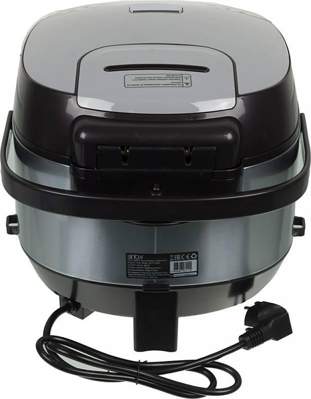 Мультиварка Sinbo SCO 5054 серебристый/черный - фото 3