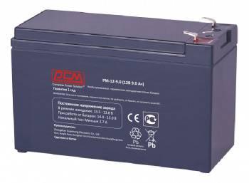 Батарея для ИБП Powercom PM-12-9.0, 12В, 9.0Ач