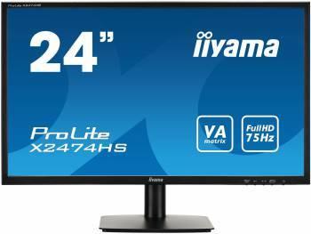 """Монитор 23.6"""" Iiyama X2474HS-B1 черный"""