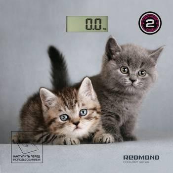 Весы напольные электронные Redmond RS-735 рисунок (RS-735 (КОТЯТА))