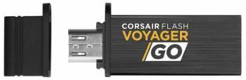 Флеш диск Corsair Voyager GO 128ГБ USB3.0 черный