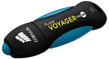 Флешка Corsair Voyager GO 256ГБ USB3.0 черный (CMFVY3A-256GB) - фото 1